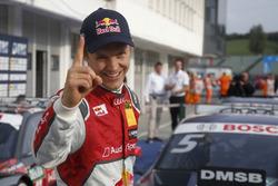 Race winner Mattias Ekström, Audi Sport Team Abt Sportsline, Audi A5 DTM