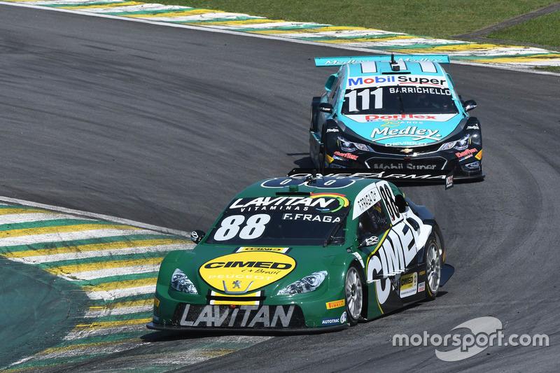 Felipe Fraga e Rubens Barrichello