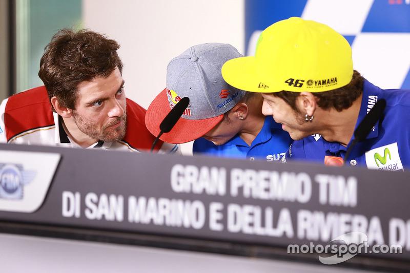 Cal Crutchlow, Team LCR Honda, Maverick Viñales, Team Suzuki Ecstar MotoGP, Valentino Rossi, Yamaha
