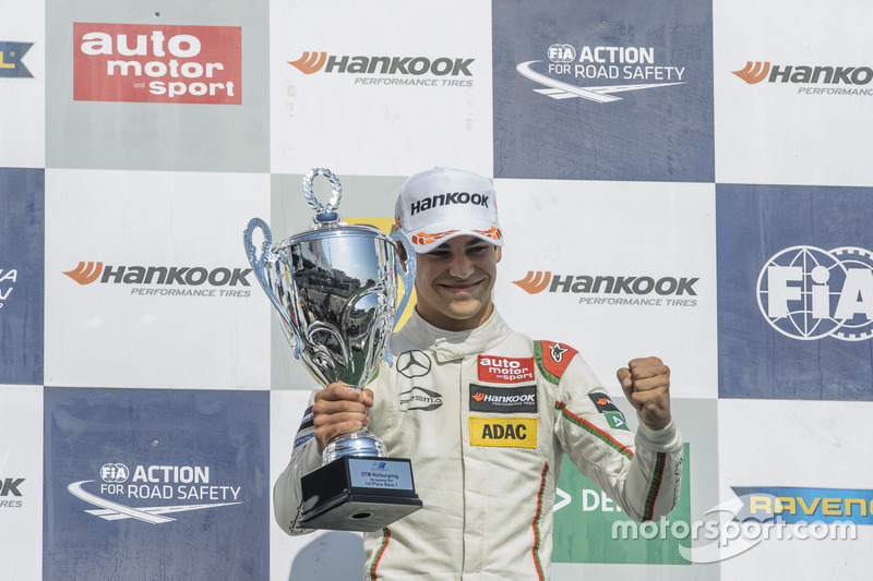 Podium, Lance Stroll Prema Powerteam Dallara F312 - Mercedes-Benz