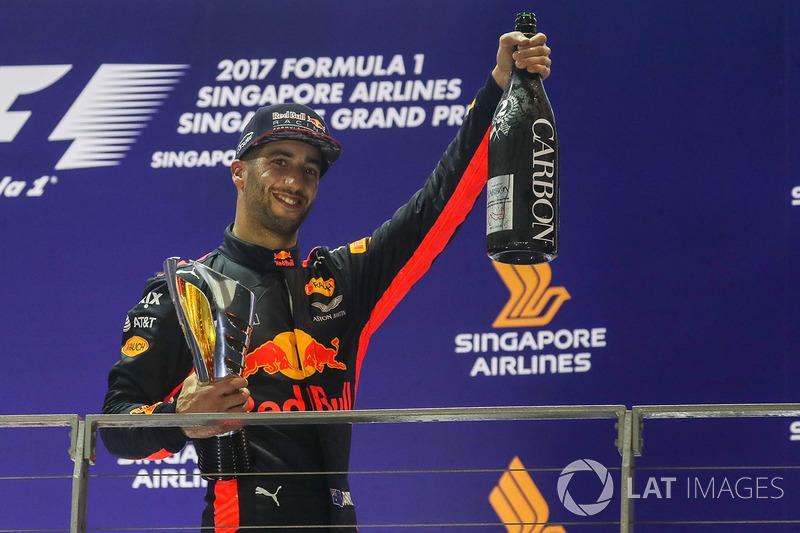 8: Daniel Ricciardo