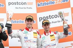 Podium: 3. #2 Montaplast by Land-Motorsport, Audi R8 LMS: Jeffrey Schmidt, Christopher Haase