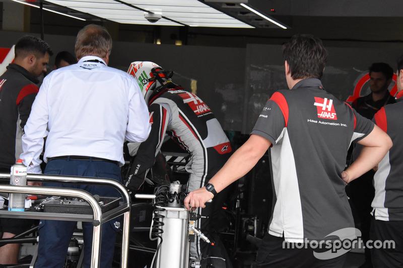 Антоніо Джовінацці, Haas F1 Team, делегат FIA Йо Бауер