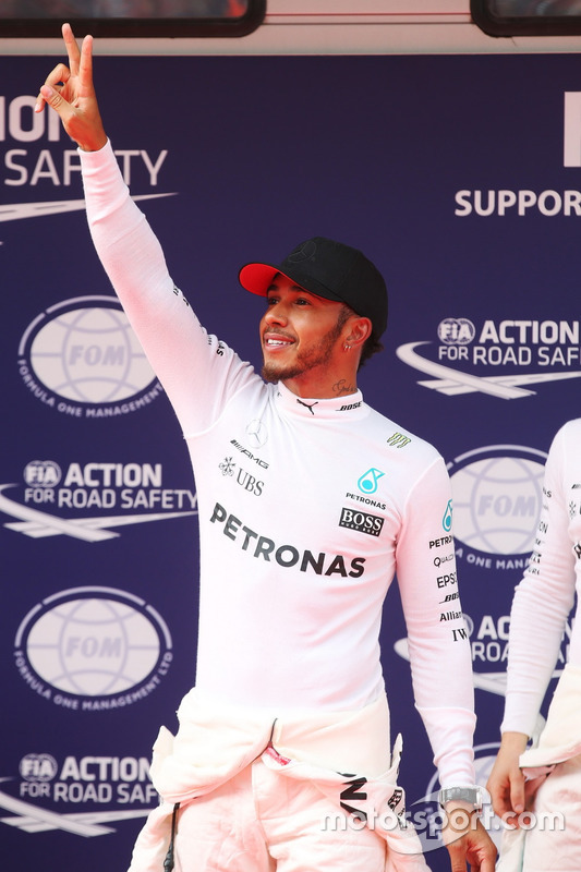 1. Lewis Hamilton, Mercedes AMG