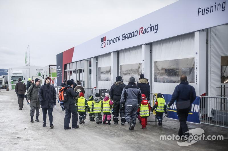 Área de equipo Toyota Racing