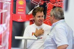 Sebastian Vettel, Ferrari and Giorgio Ascanelli
