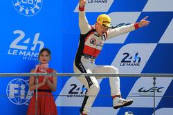 LMP2 podium: David Cheng, DC Racing