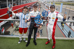 Winner Yann Ehrlacher, RC Motorsport, second place Esteban Guerrieri, Campos Racing, third place Mehdi Bennani, Sébastien Loeb Racing