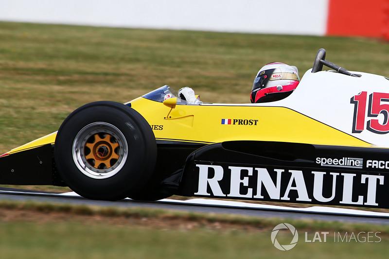 Renault Sport F1 Team F1 Historic, Franck Montagny,