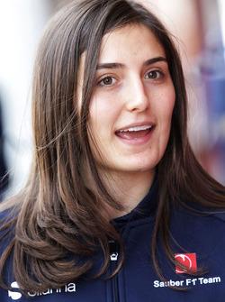 Tatiana Calderon, pilote de développement Sauber