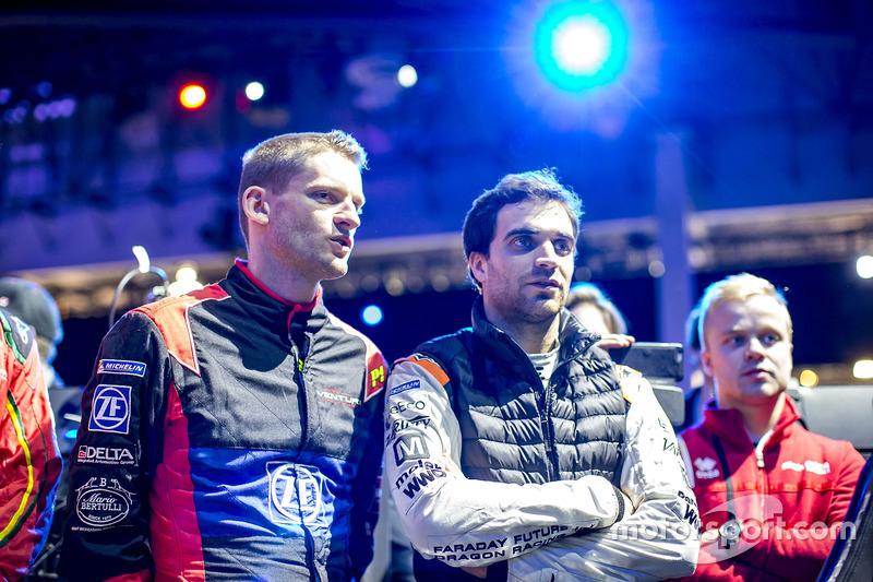 Maro Engel, Venturi, Spark-Venturi y Jérôme D'Ambrosio, Dragon Racing