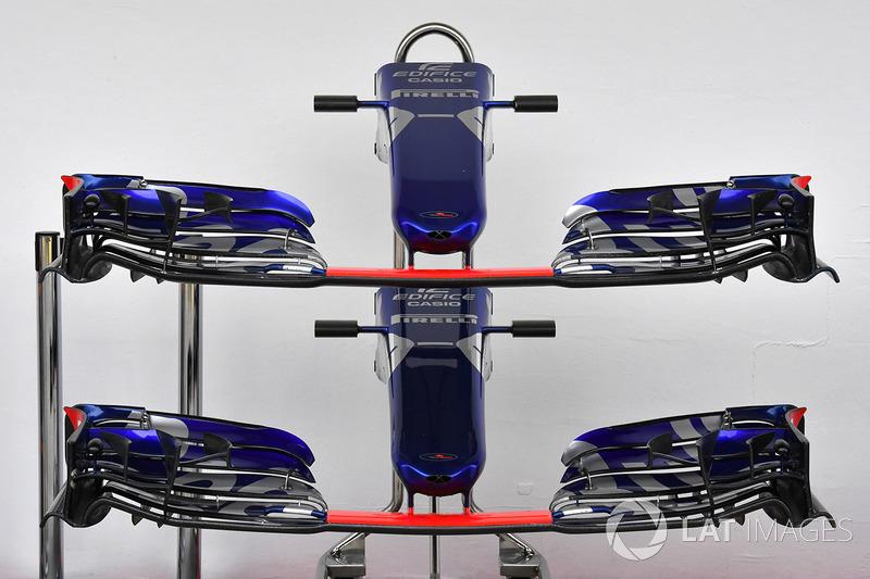 Scuderia Toro Rosso STR12: le ali anteriori per il GP d'Ungheria