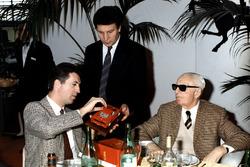 Енцо та П'єро Феррарі у 1987-му