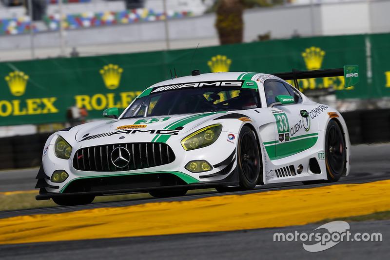 #33 Riley Motorsports Mercedes AMG GT3: Jeroen Bleekemolen, Ben Keating, Mario Farnbacher, Adam Christodoulou