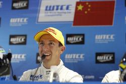 Persconferentie: Nestor Girolami, Polestar Cyan Racing, Volvo S60 Polestar TC1