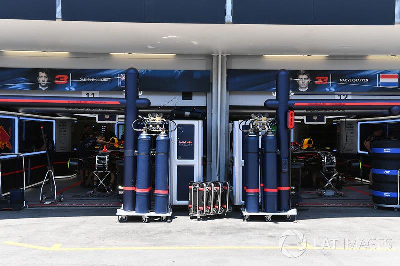 Garage, Red Bull Racing