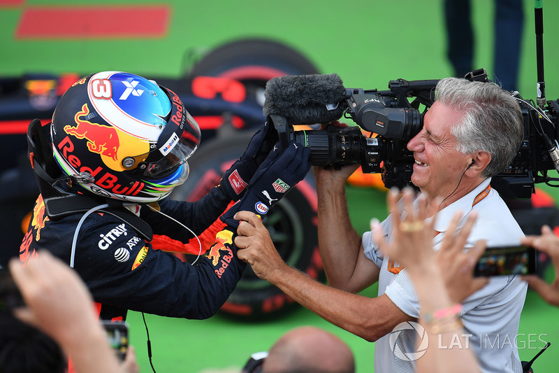 8º GP de Azerbaiyán 2017 - Victoria para Daniel Ricciardo, Red Bull Racing