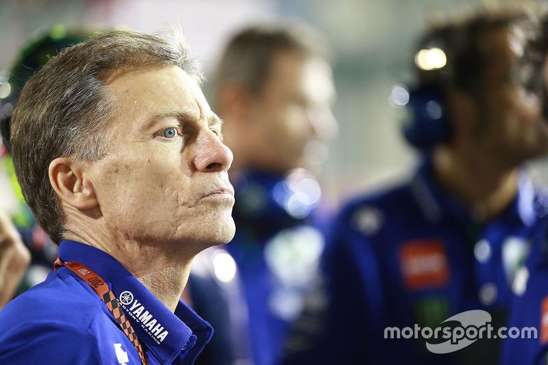 Lin Jarvis, jefe de Yamaha Factory Racing