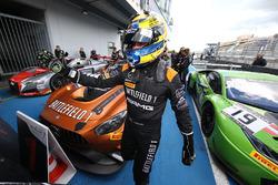 Race winner Franck Perera