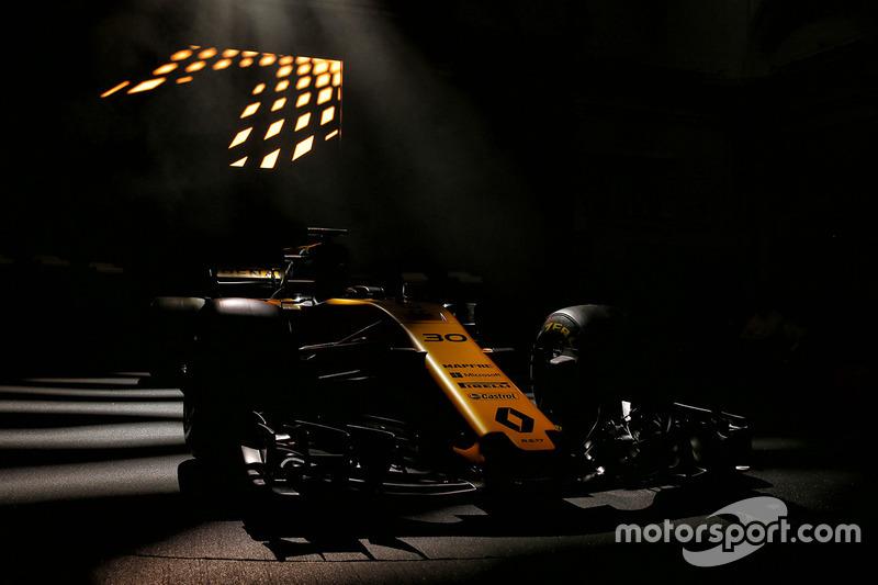 Оприлюднений Renault Sport F1 Team RS17