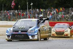 Winner Johan Kristoffersson, PSRX Volkswagen Sweden, VW Polo GTi