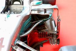 Mercedes AMG F1 W08: Detail