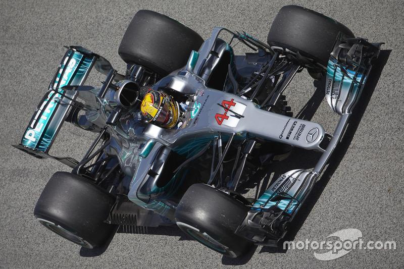1. Льюіс Хемілтон, Mercedes AMG F1 W08