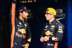 Daniel Ricciardo, Red Bull Racing, Max Verstappen, Red Bull, after Qualifying