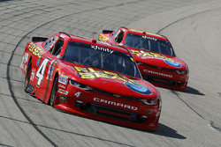 Ross Chastain, JD Motorsports Chevrolet and Harrison Rhodes, JD Motorsports Chevrolet