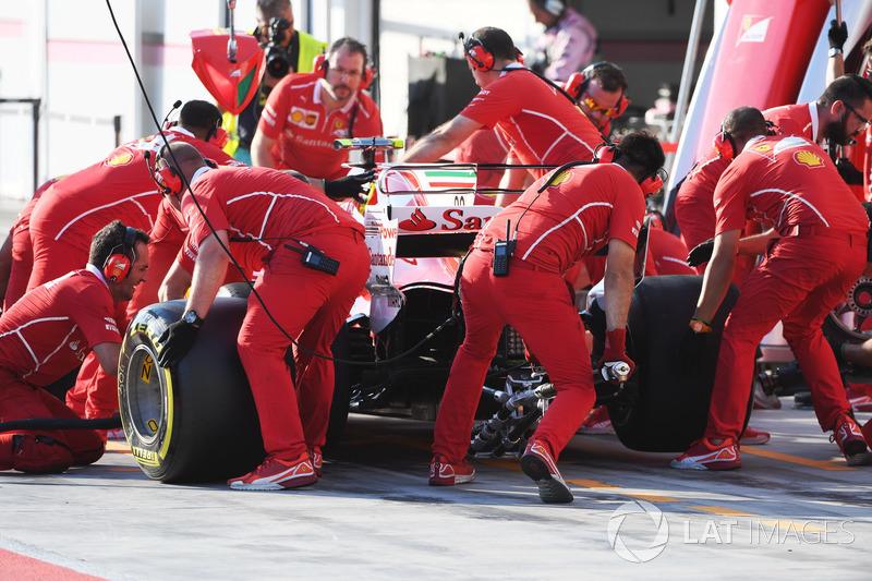 Піт-стоп, Шарль Леклер, Ferrari SF70H