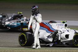После аварии: Лэнс Стролл, Williams FW40