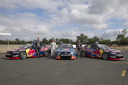 Shane van Gisbergen, Craig Lowndes, Jamie Whincup, Triple Eight Race Engineering Holden