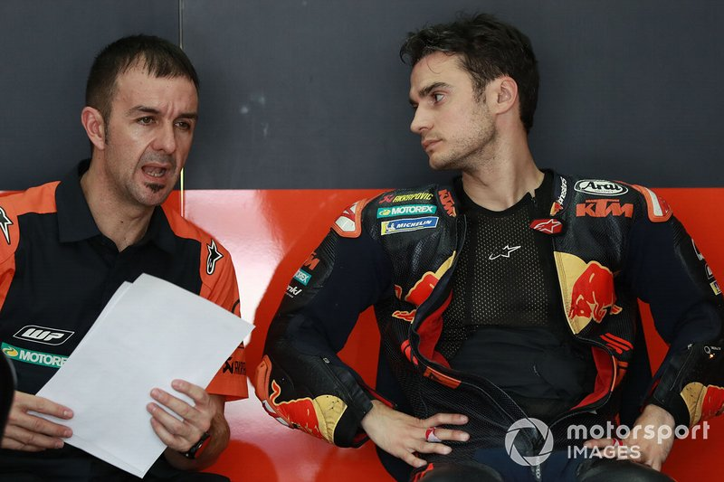 Dani Pedrosa, Red Bull KTM Factory Racing, mit David Gutierrez