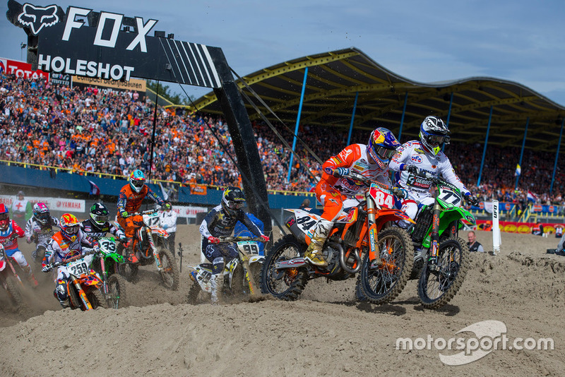 Jeffrey Herlings, Red Bull KTM Factory Racing en la salida