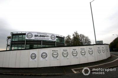 Celebración del Brawn GP 2009 por su campeonato del mundo