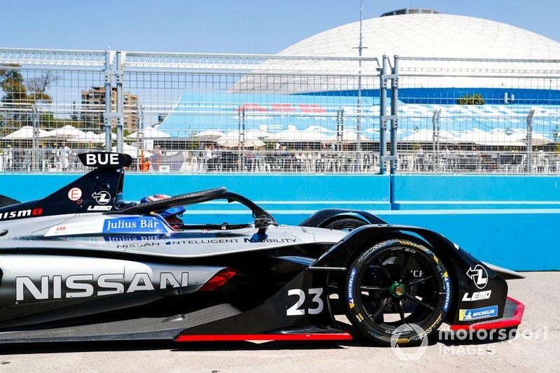 Sébastien Buemi, Nissan e.Dams, Nissan IMO1 pit lane
