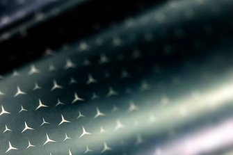 Mercedes livery teaser