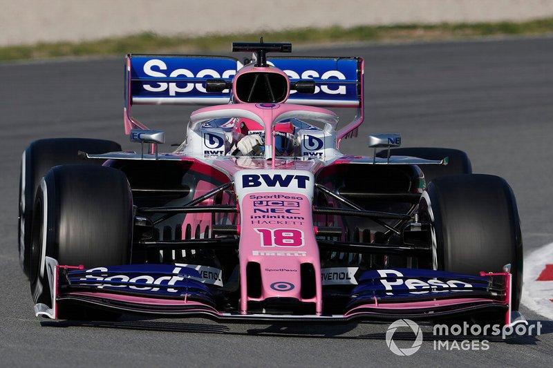 Lance Stroll, Racing Point F1 Team RP19