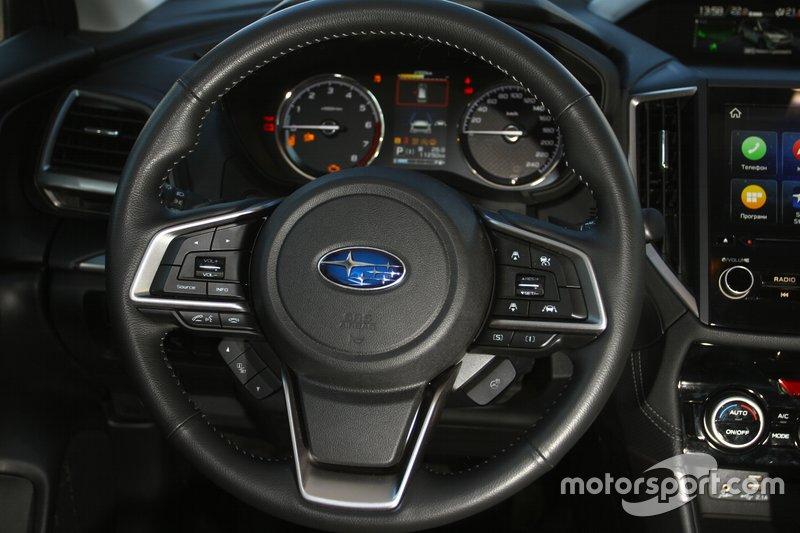 Усі нові Subaru Forester оснащенні підігрівом керма...