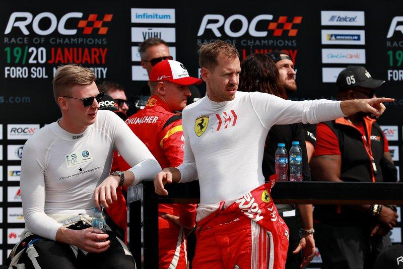 Johan Kristoffersson, Sebastian Vettel