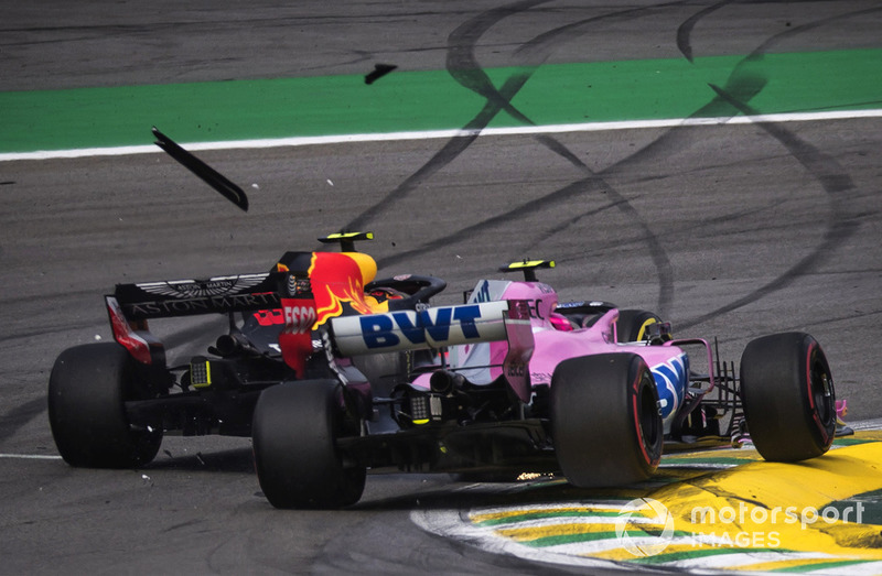 Esteban Ocon - Racing Point Force India: 4 puan