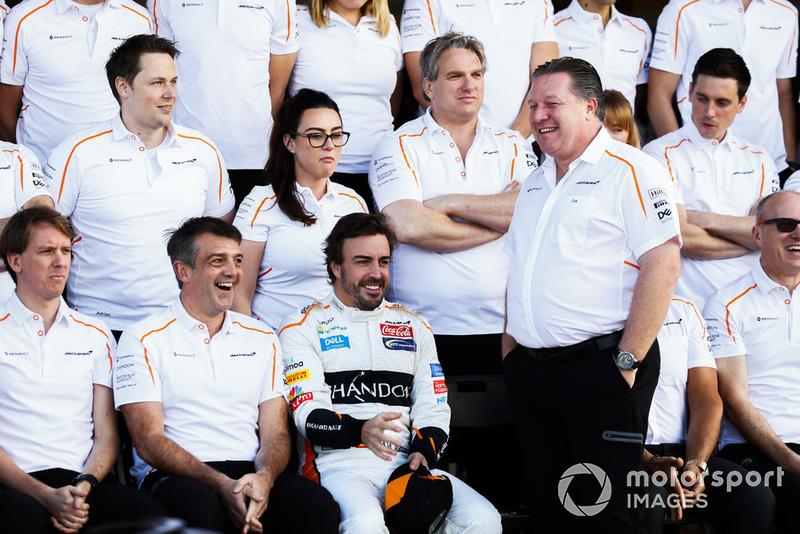 Фернандо Алонсо, McLaren, генеральний директор McLaren Зак Браун