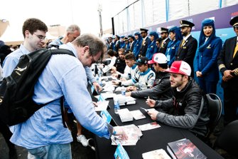 Daniel Abt, Audi Sport ABT Schaeffler signs autographs for fans at the autograph session