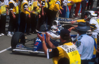 Ganador de la carrera Nigel Mansell, Williams FW16B