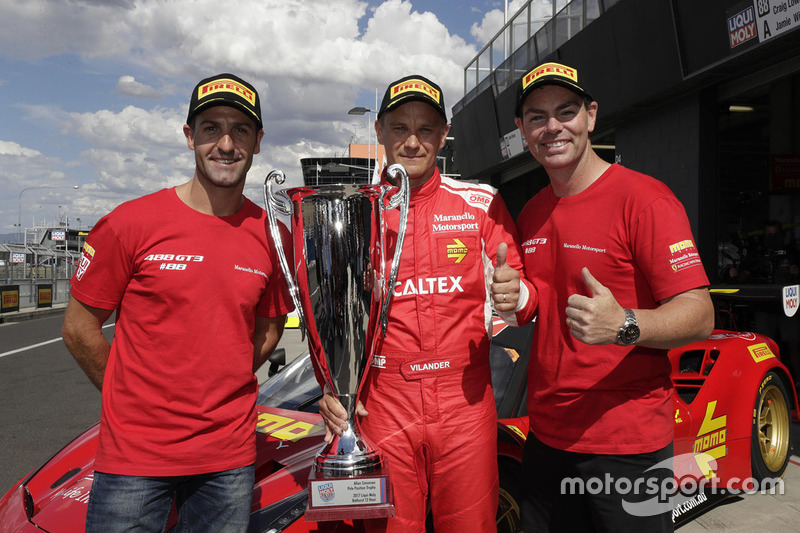 Poleman #88 Maranello Motorsport, Ferrari 488 GT3: Toni Vilander, Craig Lowndes, Jamie Wincup
