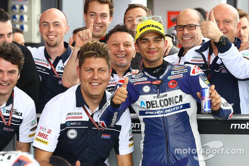3. Jorge Martin, Del Conca Gresini Racing Moto3
