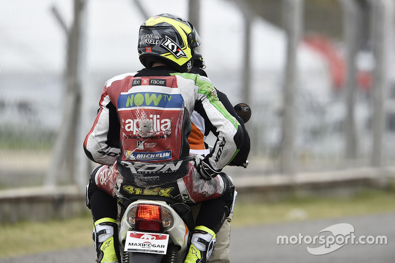 Aleix Espargaro, 19 kali kecelakaan