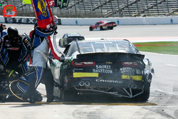 Daniel Hemric, Richard Childress Racing Chevrolet, pit stop
