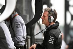 James Allison, directeur technique de Mercedes F1