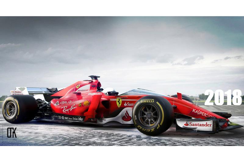 Ferrari F1 2018 Konsept